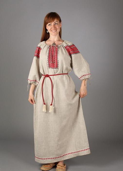 Shirt Russian folk: description, sewing, pattern, photo